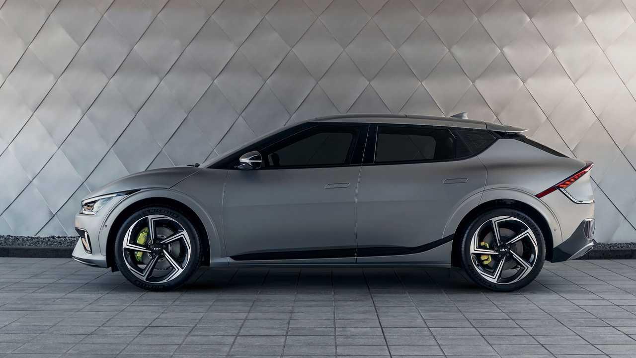 Электромобиль Kia EV6