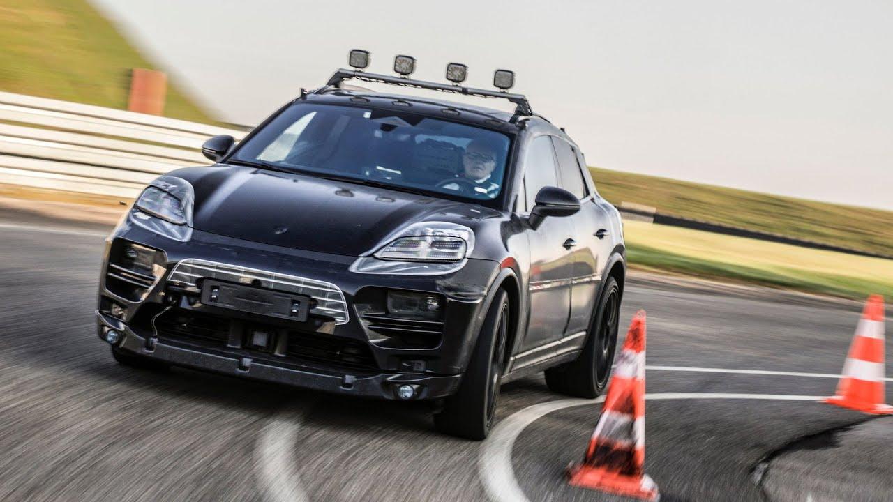 Электромобиль Porsche Macan EV