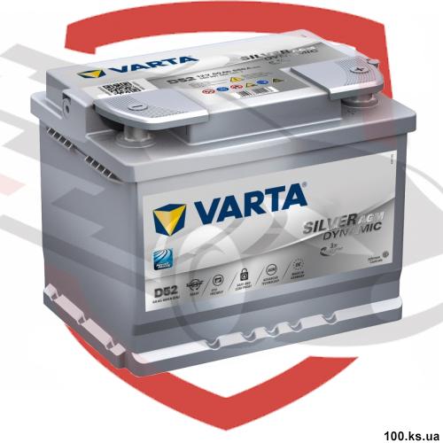 VARTA D52 Silver Dynamic AGM, рейтинг аккумуляторов
