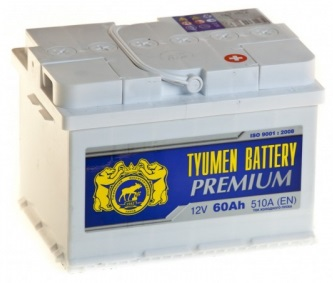 Тюмень Premium 6СТ-60, рейтинг аккумуляторов