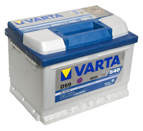 VARTA D59 Blue Dynamic, лучшие аккумуляторы