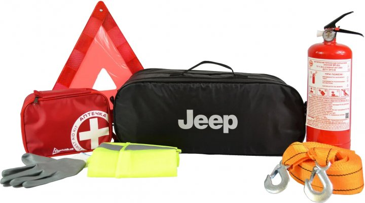 набор автомобилиста jeep