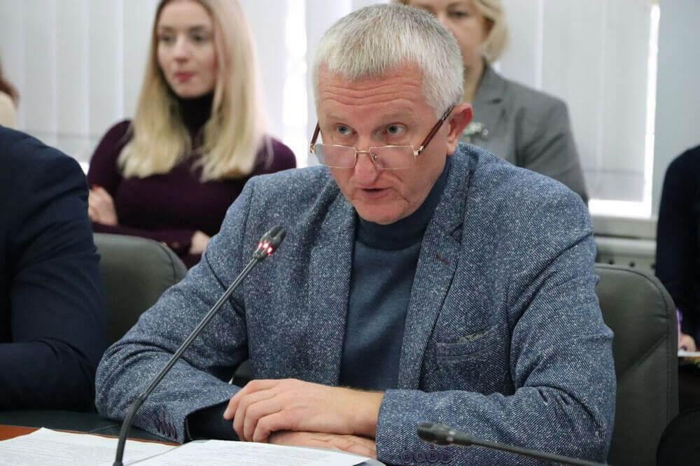 Анатолий Галамага, Департамент строительства и развития инфраструктуры ОГА