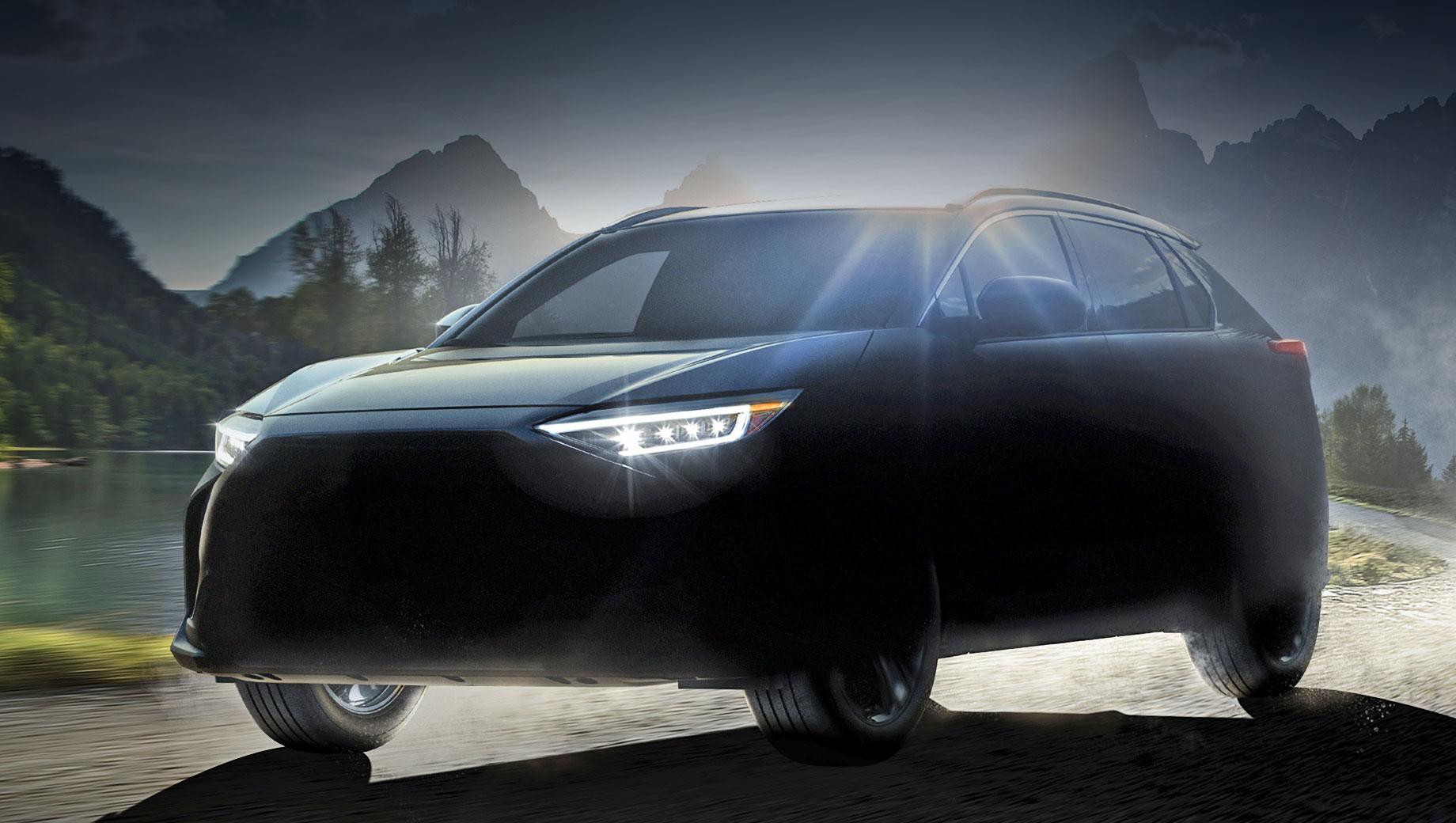 Электромобиль Subaru Solterra