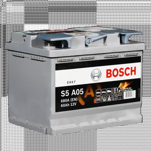 Bosch AGM S5 A05, лучшие акб автомобильные