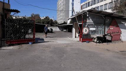 Автостоянка на территории ПТУ-14, пр. Победы-7г