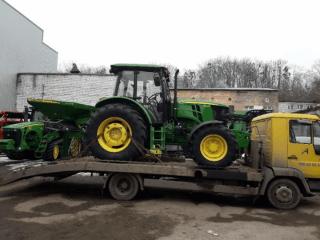 Эвакуатор для сельхоз техники и других