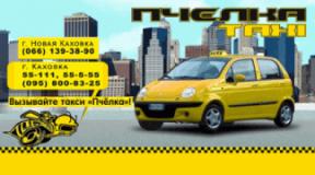 Пчелка, Такси, 2020, Новая Каховка, записаться, отзывы